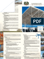 Space Structures Company Technical Specifications