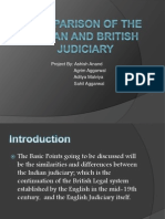 Comparison of the Indian and British Judiciary