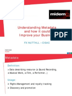 CISAC Understanding Metadata