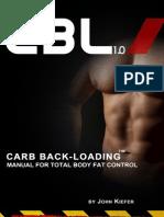 Carb Back Loading (Kiefer)