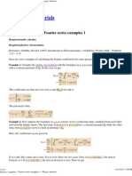 Laplace's equation – Fourier series examples 1 « Physics tutorials (3.12-3.13)