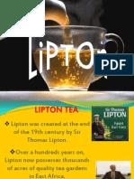 Ppt Lipton