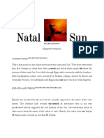 Real Sky Personal Natal Sun Sign