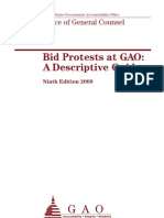 GAO Bid Protest Guide