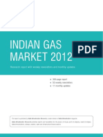 Indian Gas Market 2012