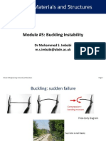 EG2502 Module 5 Buckling Instability