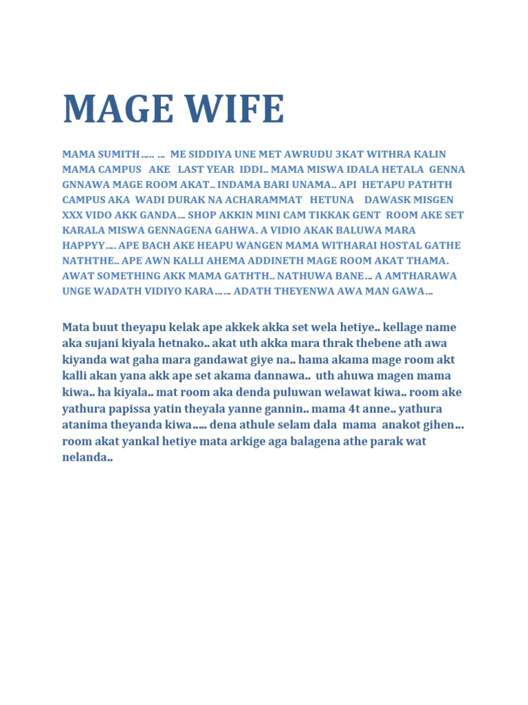 mage wife 2