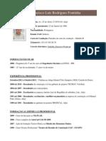Francisco Luís Rodrigues Fontinha_currículo