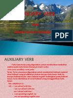 Pengertian Auxiliary Verb