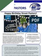 Street Pastors Newsletter- Spring 2012