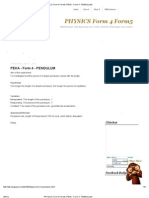 Physics Form 4 Form5_ Peka - Form 4 - Pendulum