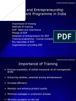 13735241 Entrepreneurial Development in India and EDP
