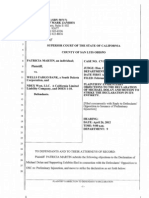 Plaintiff Evidentiary Objections to Dolan Declaration