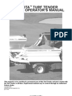 Campey - Dakota Turf Tender - Operators Manual 2006a