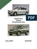Hybrid Cars vs Conve How to Choice