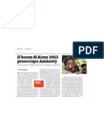 Il Boom di Kony 2012 preoccupa Amnesty