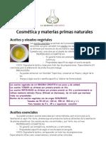 Dossier Ingredientes REDOMA TIENDAS MAR 2012