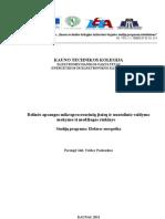 Relines Apsaugos Mikroprocesoriniai Itaisai Ir Nuotolinis Valdyams