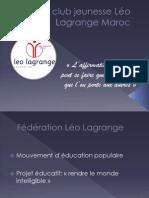 Présentation du club jeunesse Léo Lagrange Maroc