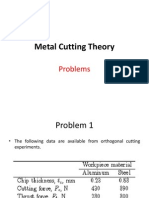 Metal Cutting Theory_Problem