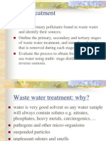 Environmental Chemistry Waste Water Treatment(2)