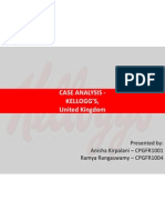 Anisha - Kelloggs UK Case Analysis