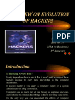 Review on Evolution of Hacking