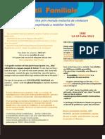 Newsletter Constelatii Familiale Iasi 14-15Iul2012