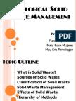 Ecological Solid Waste Management