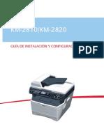 Kyocera KM2810-2820S Manual
