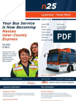 NICE-n25 Maps and Schedules
