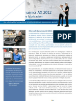 Manufacturing Ax 2012