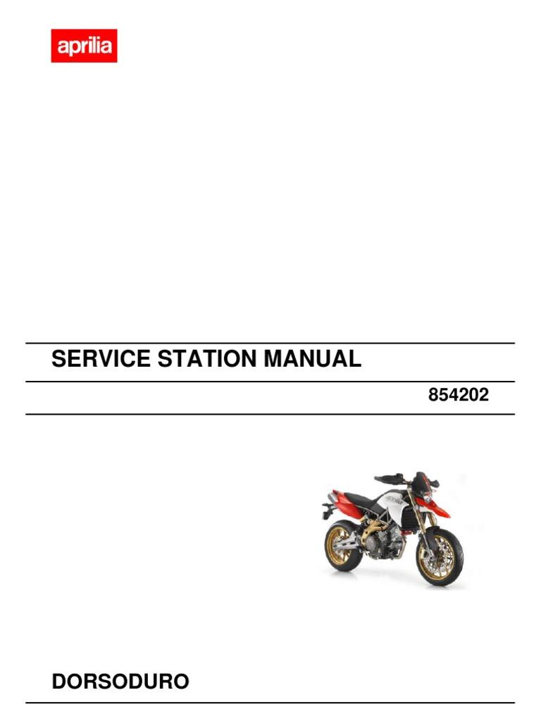 Dorsoduro 750 Service Manual ENG | Internal Combustion Engine |  Transmission (Mechanics)