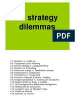 Strategy Dilemmas