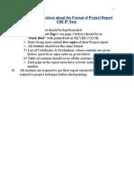 Project Report Format( CSE )