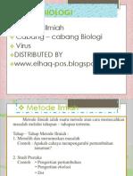 Metode, Cabang , Virus OKE