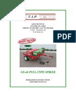 Campey - TIP - Greens Spiker Seeder - Pull Behind - Opertors Manual_2010