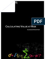 Calculating Value at Risk (VaR) TOC