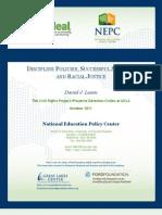 NEPC-SchoolDiscipline