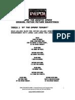 Repo! the Genetic Opera Soundtrack -- Repo! the Genetic Opera - Soundtrack Lyrics