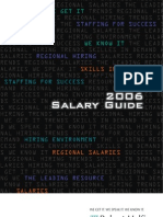 2006 IT salary guide