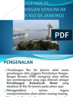 Agenda 21 Dan Protokol Kyoto