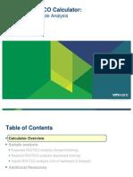VMware ROI TCO Calculator Guide[1]