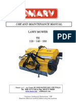 Campey - Omarv TE 120-140-160 - Operators & Parts Manual
