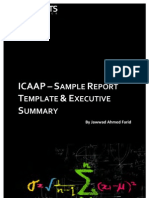 ICAAP Sample Credit Report Toc