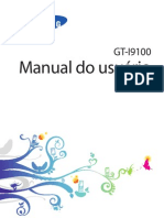 Manual do Usuário Sansung Galaxy SII