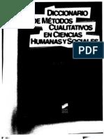 85391337 Diccionario de Metodos Cualitativos Alex Mucchielli