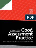 Guide for Good Assessment