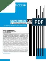 Monitoreo Ciudadano Basado en Indicadores MDGF Mexico