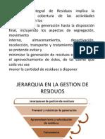 Componentes Del Manejo Integral de Residuos